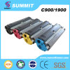 Laser Printer Compatible Color Toner Cartridge para C900/1900