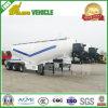 Drie Assen hopen de Aanhangwagen van de Tanker van het Cement op