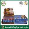 Caja de presentación cosmética de lujo de la caja/del lápiz labial de presentación de la tapa contraria