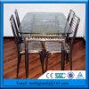 Rimuovere il vetro da tavolo sicuro temperato