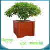 Contenitore di legno impermeabile di fiore di vendita calda WPC