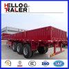 De Semi Aanhangwagen van Bulker van de Lading van de Aanhangwagen 60ton van de Lading van de Zijwand van de tri-as