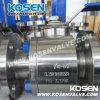 L'acier modifié réduisent les robinets à tournant sphérique gauches (SQ41)