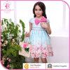 Blume Girl Dress mit einem Bowknot auf The Shoulder