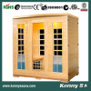2014 (KL-4SAF) nuevas saunas del infrarrojo lejano del calentador de Indoorcarbon