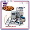 Linha de produção automática fogão dos doces do Toffee dos doces