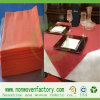 多彩なNonwoven布の安いテーブルクロス
