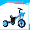Passeio do triciclo dos miúdos do bebê em brinquedos do carro