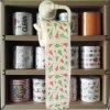 El tocador de la Navidad limpia la toalla de cocina impresa del papel higiénico de la novedad
