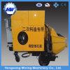 Pompe concrète de remorque de transfert de construction avec le moteur électrique