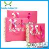 Los bolsos de papel de encargo del regalo de la talla y de la insignia de la manera venden al por mayor