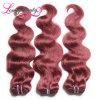 Unprocessed объемная волна бразильянина волос девственницы 99j дешевая