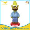 OEM van de Fabriek van China het Beeldje van Bobblehead van de Hars van Simpson van de Douane voor Gift