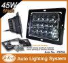 """5 """" 4X6 High - baixo diodo emissor de luz Driving Light de Beam 45W para Jeep (PD5SL 45W)"""
