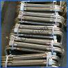 Mangueira dourada do metal do GB do vendedor do encaixe de gás de 1 polegada