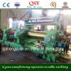 Doppeltes Shaft Driving Bearing Rolls China Qingdao CER Approval Rubber Sheet Making Machine 22inch Two Roll Mixing Mill Machine