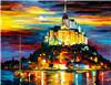 Muestra libre Pintura al plástico decoración de la pared de piedra de acrílico mosaico