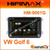 7  2-DIN reproductores de DVD W/Bluetooth RDS, GPS, Tmc, DVB-T Construir-en Optional para VW Golf 6 (HM-9001G)