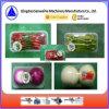 Machine automatique d'emballage en papier rétrécissable de cuve végétale