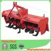 Landwirtschaftliche Maschinerie-Drehpflüger-Bauernhof-Traktor-eingehangener Landwirt