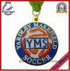カスタマイズされたサッカーはメダル、柔らかいエナメルのサッカー賞を遊ばす