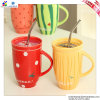 Fumetto Lovely Fruit Ceramic Cup con Cover