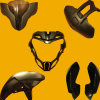 OEM Injection Moulding Motorcycle Plastic Parts for Pulsar200ns