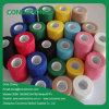 Vendaje elástico cohesivo no tejido fácil coloreado del rasgón de la mano