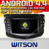 Witson Android 4.4 Car DVD para Toyota RAV4 com A9 o Internet DVR Support da ROM WiFi 3G do chipset 1080P 8g