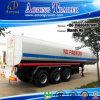 3 assen 45000 Liter Aanhangwagen van de Olietanker van de Semi