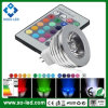 RGB Color Changing 12V MR16 3W LED RGB Spotlight