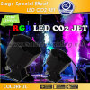 Rot, Green, Blue, White CO2 Jet mit Colorful und Powerful Effect (X-4)