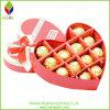 ハート形のバレンタインデーチョコレートペーパーギフト用の箱