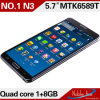 5.7inch quad-Core Mtk6589t Android Phone (nota 3 do no. 1)