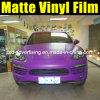 Фольга изменения цвета автомобиля Matt пурпуровая