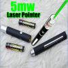 5mwレーザーのペン、緑のポインターのペン(LP-001)