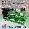 Precio del generador del motor de la fuente de alimentación del biogás de la basura 200kw del animal del campo