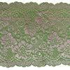 Ткань 18 Cm шнурка Sequin цветка пинка Китая широко