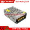 fuente de alimentación de la conmutación del transformador AC/DC de 24V 6A 150W LED Htp