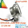 9W IP68 IP, das Unterwasser-LED-Punkt-Lichter bewertet