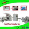 Het automatische GezichtsPapieren zakdoekje dat van de Tekening van het Vakje van de Lopende band van het Papieren zakdoekje Machine maakt