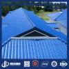 Гальванизированные стальные синие Corrugated листы толя