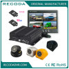Ahd cuatro en uno 4 cámaras se dobla la tarjeta DVR móvil del SD con 3G 4G GPS WiFi 1080P