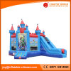 Bouncer inflável popular da princesa Jumping Bouncy Castelo Inflável (T2-500B)