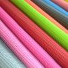 Couro de nylon do PVC de pano de Oxford para as sapatas (HS-M211)