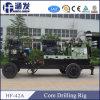 Hf42Aトレーラーによって取付けられる掘削装置のコア試すい機械