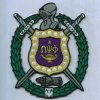 El cercado del bordado tejido corrección del símbolo Badges (GZHY-PATCH-015)