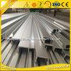 Perfil de aluminio anodizado serie de 6000 protuberancias C