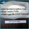 99% Pharmaceutica Chemical Pregabalin en Polvo con Acción Fresca