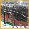 中国最も安く黒いNero Marquinaの大理石の平板かNero Marquinaの大理石のタイル